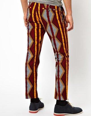 Bite by Dent De Man Bamboo Print Trousers