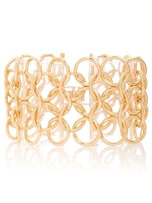 GUESS Gold-tone Multi Link Chain Bracelet