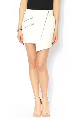 Wilde Heart Stone Cold Leatherette Skirt