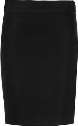 Versace Black Pencil Skirt