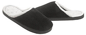 Isotoner Microterry Wide Width Clog Slippers