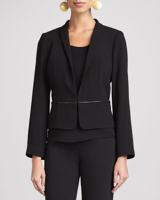Eileen Fisher Tropical Suiting Jacket, Women's