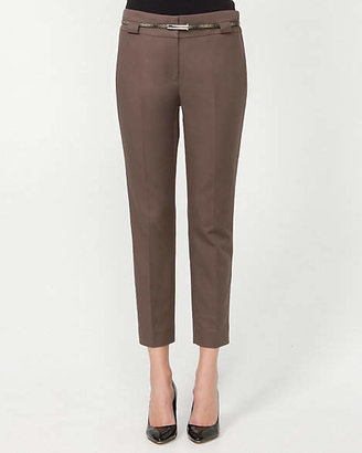 Le Château Cotton Belted Slim Leg Pant