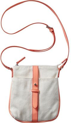 Old Navy Women's Mini Zip-Pocket Canvas Crossbodies
