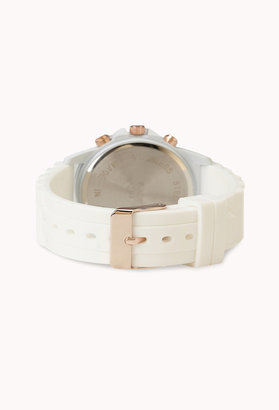 Forever 21 Rubber Chronograph Watch