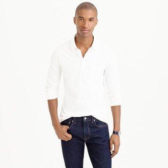J.Crew Broken-in long-sleeve pocket polo shirt
