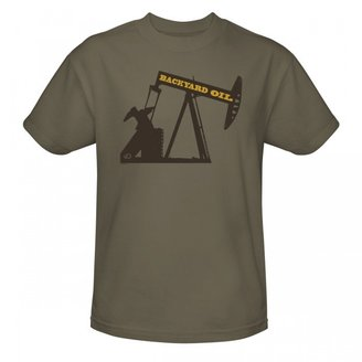 Discovery Backyard Oil Drill T-Shirt - Safari Green
