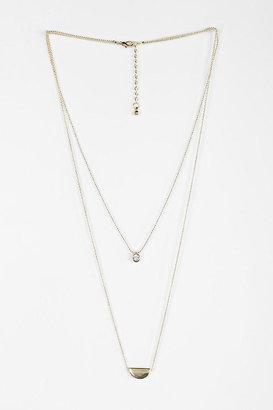 Urban Outfitters Phases Of The Moon Necklace