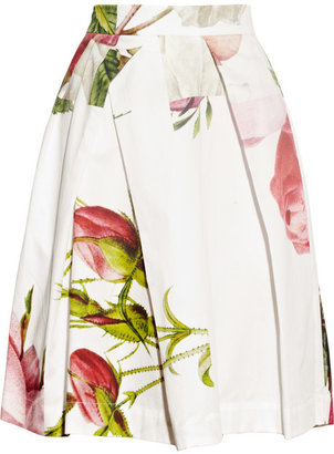 Vivienne Westwood Liberty floral-print cotton skirt