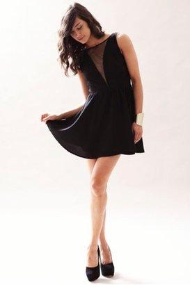 Keepsake Midnight City Dress in Black