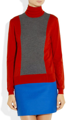 Marni Fine-knit and ribbed cashmere sweater