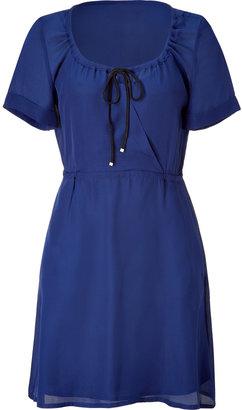 Marc by Marc Jacobs Twilight Blue Silk Dress