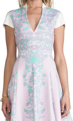 Pencey Deep V Mini Dress