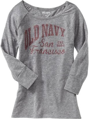 Old Navy Women's Long-Sleeve Graphic Tees
