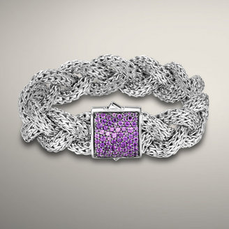 John Hardy CLASSIC CHAIN COLLECTION Large Braided Bracelet