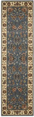 "Nourison Area Rug, Persian Arts BD05 Light Blue 2' 3"" x 12' Runner Rug"