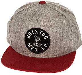 Brixton The Cobra Snapback Hat