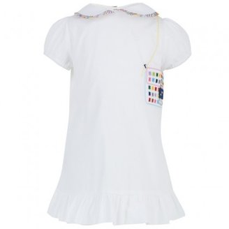 Fendi Cotton Handbag Applique Dress