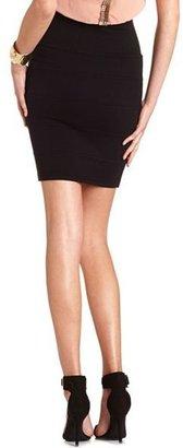Charlotte Russe Sweater Knit Bandage Skirt