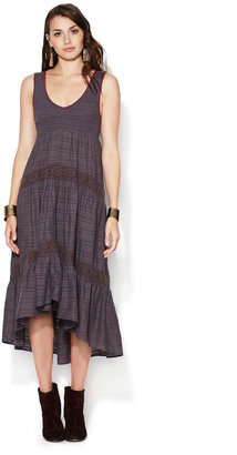 Free People Arbor Lace Trimmed Maxi Dress
