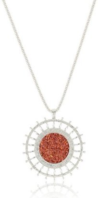"""Love Peace and Hope """"Love Peace and Earth Jewelry Collection"""" Round Pendant Necklace"""