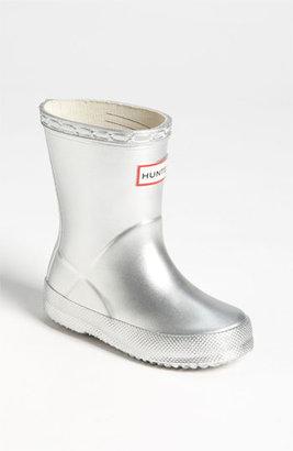 Hunter 'Kid's First Gloss' Rain Boot (Walker, Toddler & Little Kid)