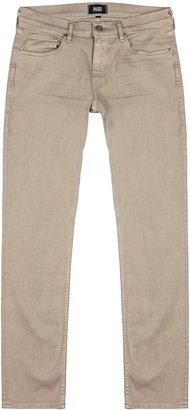 Paige Lennox Cream Slim-leg Jeans
