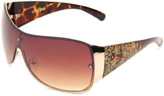 Southpole Women's 360SP GLD Shield Sunglasses