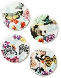 Anthropologie Zoology Coasters