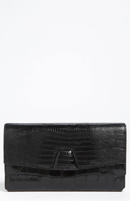 Alexander Wang Trifold Embossed Leather Clutch