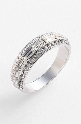 Ariella Collection Baguette Band Ring