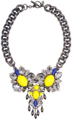 Anton Heunis Colorblocked Crystal Necklace