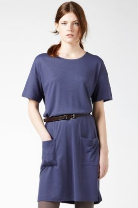 Lacoste Short Sleeve Heavy Jersey T-shirt Dress