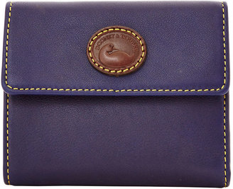 Dooney & Bourke Calf Small Flap Wallet