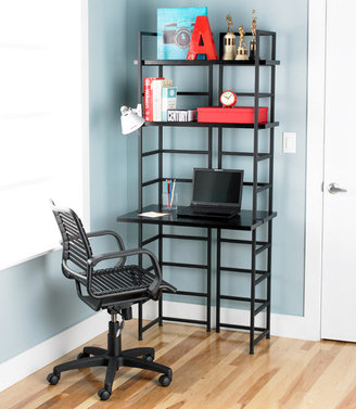 Container Store Ebony Connections Workstation