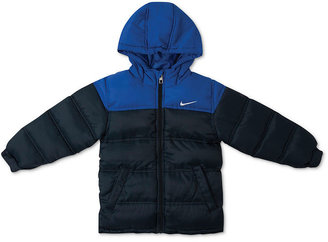 Nike Jacket, Little Boys Colorblock Puffer Jacket