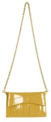 Zac Posen Shirley Patent Bow Shoulder Bag