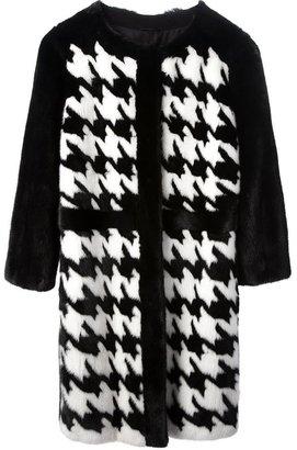 Liska dogtooth check coat