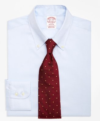 Brooks Brothers Madison Classic-Fit Dress Shirt, Button-Down Collar