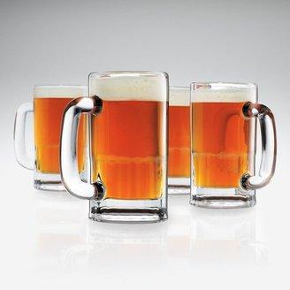 Sonoma life + style ® 4-pk. glass beer mugs
