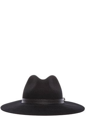 Rag and Bone rag & bone Wide Brim Fedora in Black
