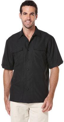 Cubavera Short Sleeve Two Pocket Shirt