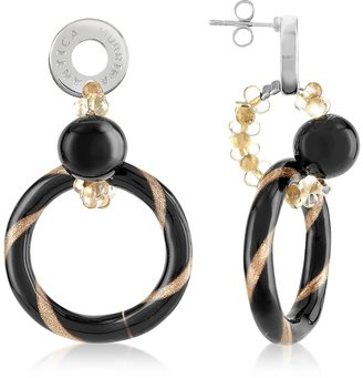 Antica Murrina Bolero - Murano Glass Dangle Earrings $55 thestylecure.com
