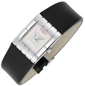 Raymond Weil Tema - Ladies' Double Diamond River Leather Watch