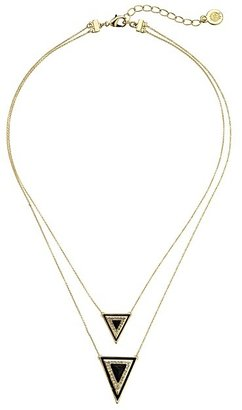 House of Harlow 1960 Teepee Triangle Necklace $58 thestylecure.com