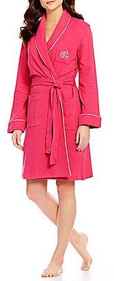 Lauren Ralph Lauren Shawl-Collar Short Robe
