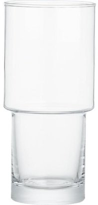 Crate & Barrel Stack Highball Glass