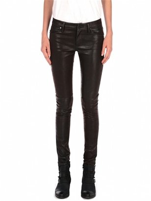 Blank NYC Sueded Vegan Leather Skinny