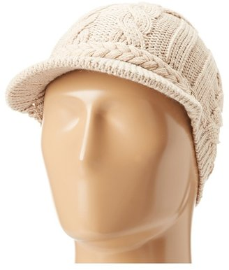 Calvin Klein Cable Cabbie (Heathered Almond) - Hats