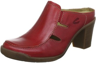Camel Active Womens Parma 13 Clogs and Mules Red Red Size: 41